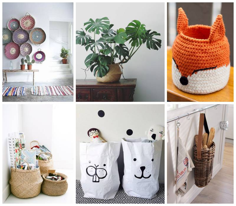 Inspiración semanal cestos