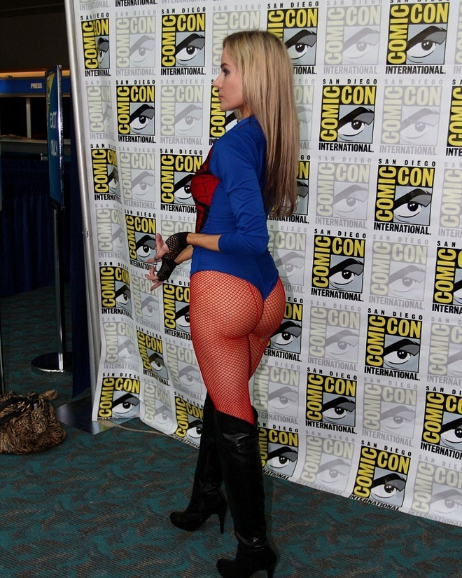 Paula Labaredas as Spider Girl at Comic-Con 2012