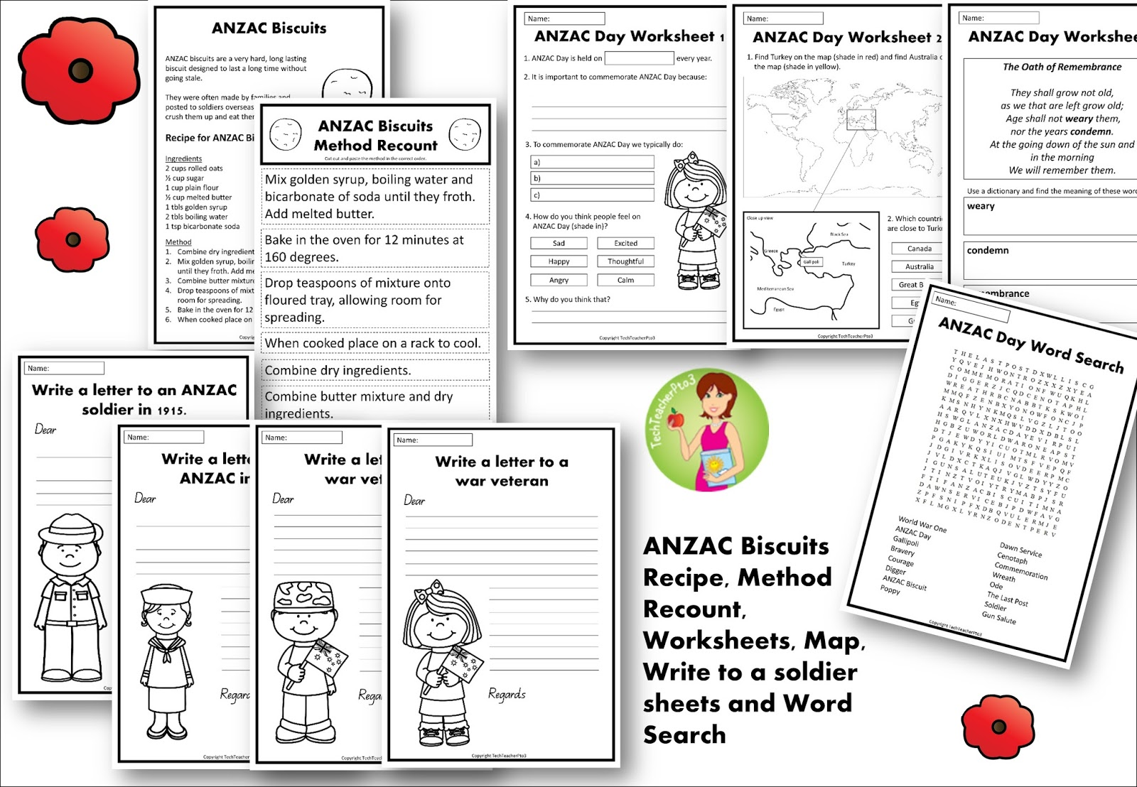 Anzac Day Activities For The Classroom