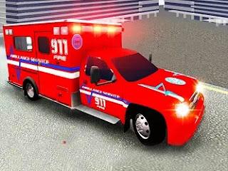 Şehir Ambulans Sürüşü - City Ambulance Driving