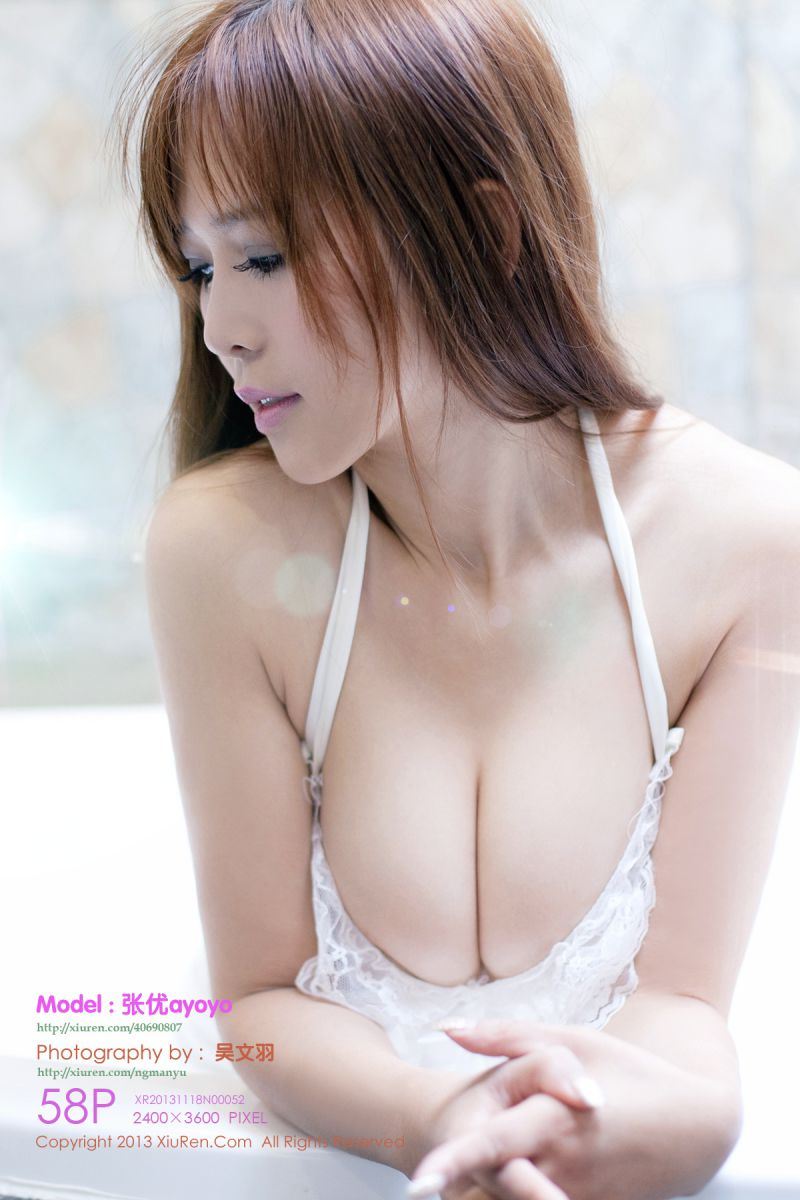 chinese nude model ayoyo