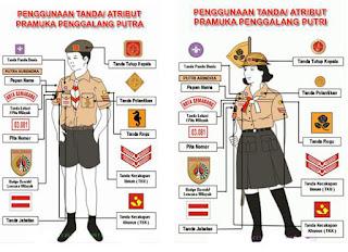 seragam pramuka penggaang