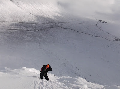 Winter climbing, Glencoe
