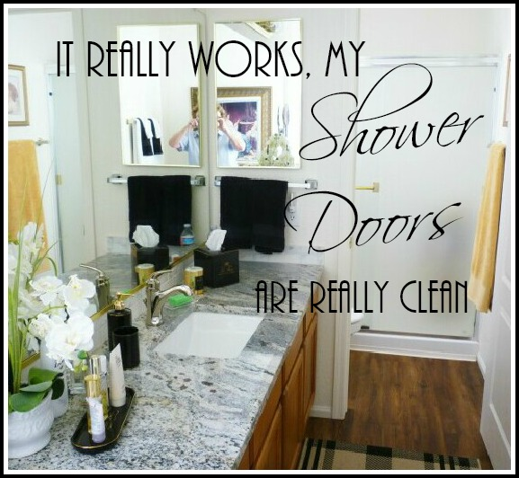 It Really Works - My Shower Doors Are Really Clean