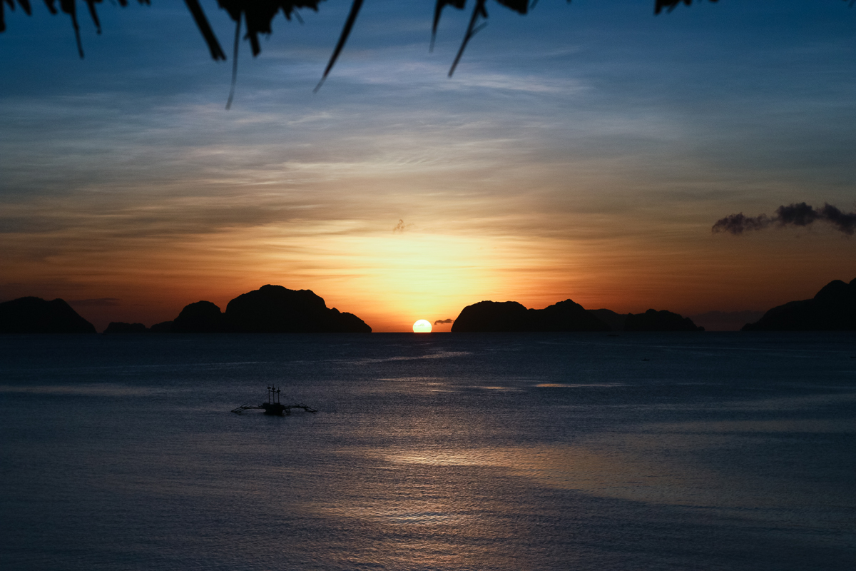photo of El Nido sunset