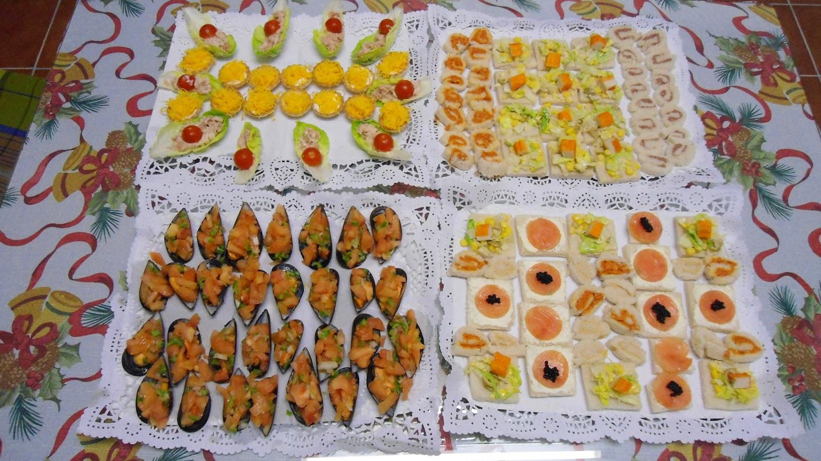 Recetas caseras de mari carmen aperitivos canap s y - Como hacer aperitivos frios ...