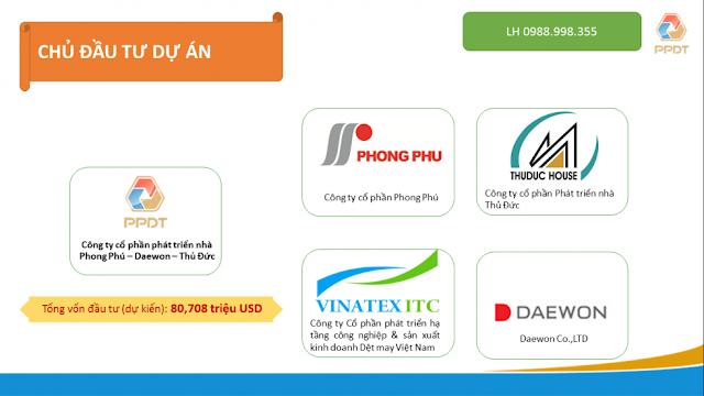 các chủ đầu tư của Green Pearl Minh Khai