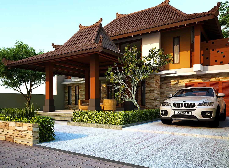 Rumah Minimalis Gaya Jawa Yang Modern