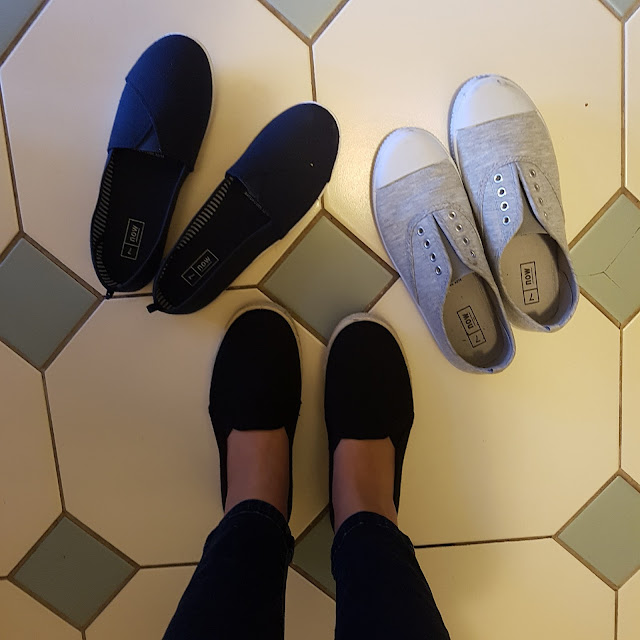 Kmart canvas shoes | Almost Posh