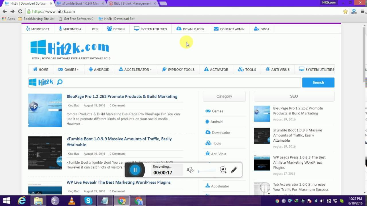 xTumble Boot 1.0.9.9 Get Traffic, Easily Free Download