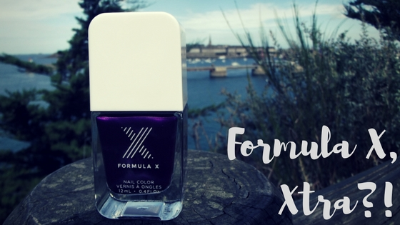vernis formula X pedal of the métal