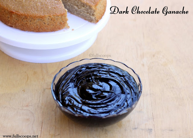 Dark Chocolate Ganache