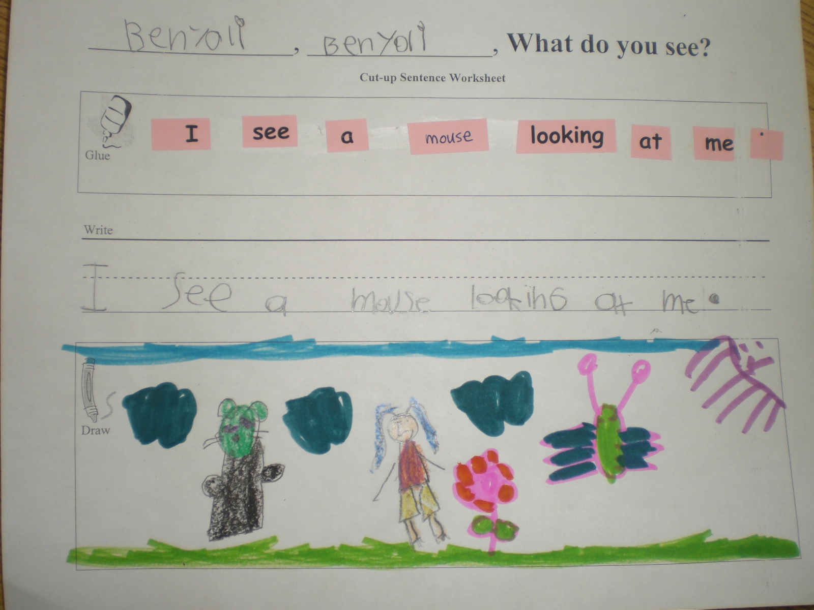 Primary Esol Brown Bear Brown Bear What Do You See