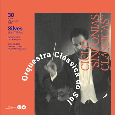 Sé de Silves acolhe «Sinfonias Clássicas» da Orquestra Clássica do Sul