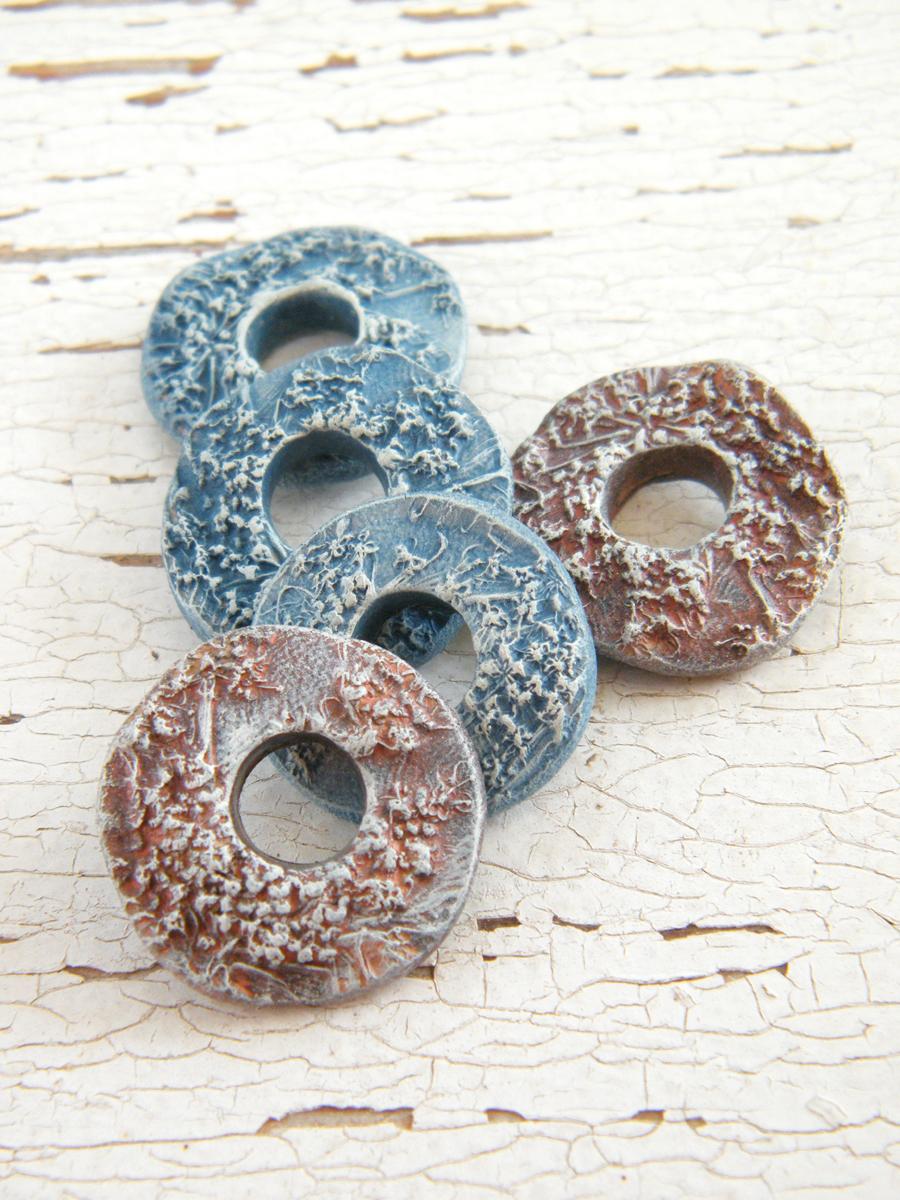 Polymer Clay Tutorial 6 Ways To Make Clay Bracelets: FurnityurMolds: Floral Print Polymer Clay