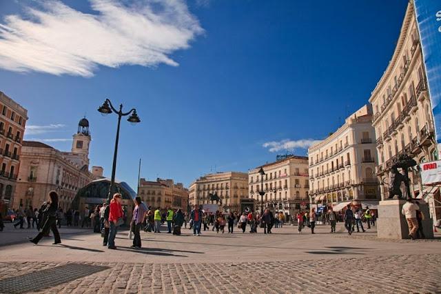 Puerta del Sol em Madri