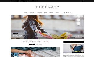Rosemary best blogger templates
