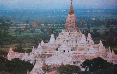 Foto Pagoda Ananda di Kota Pagan