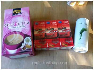 Krüger Chai Latte Exotic India, Limuh und Acao