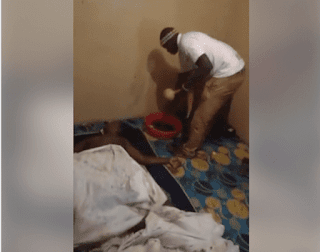 Man gets stuck while having sex with married woman in Kenya - watch video