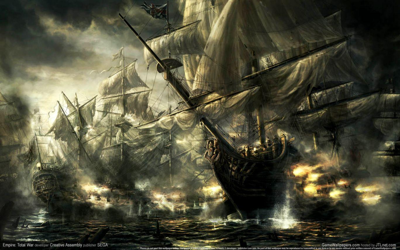 Hd Pirate Ship Wallpaper: 3D Ghost Ship Wallpaper Hd