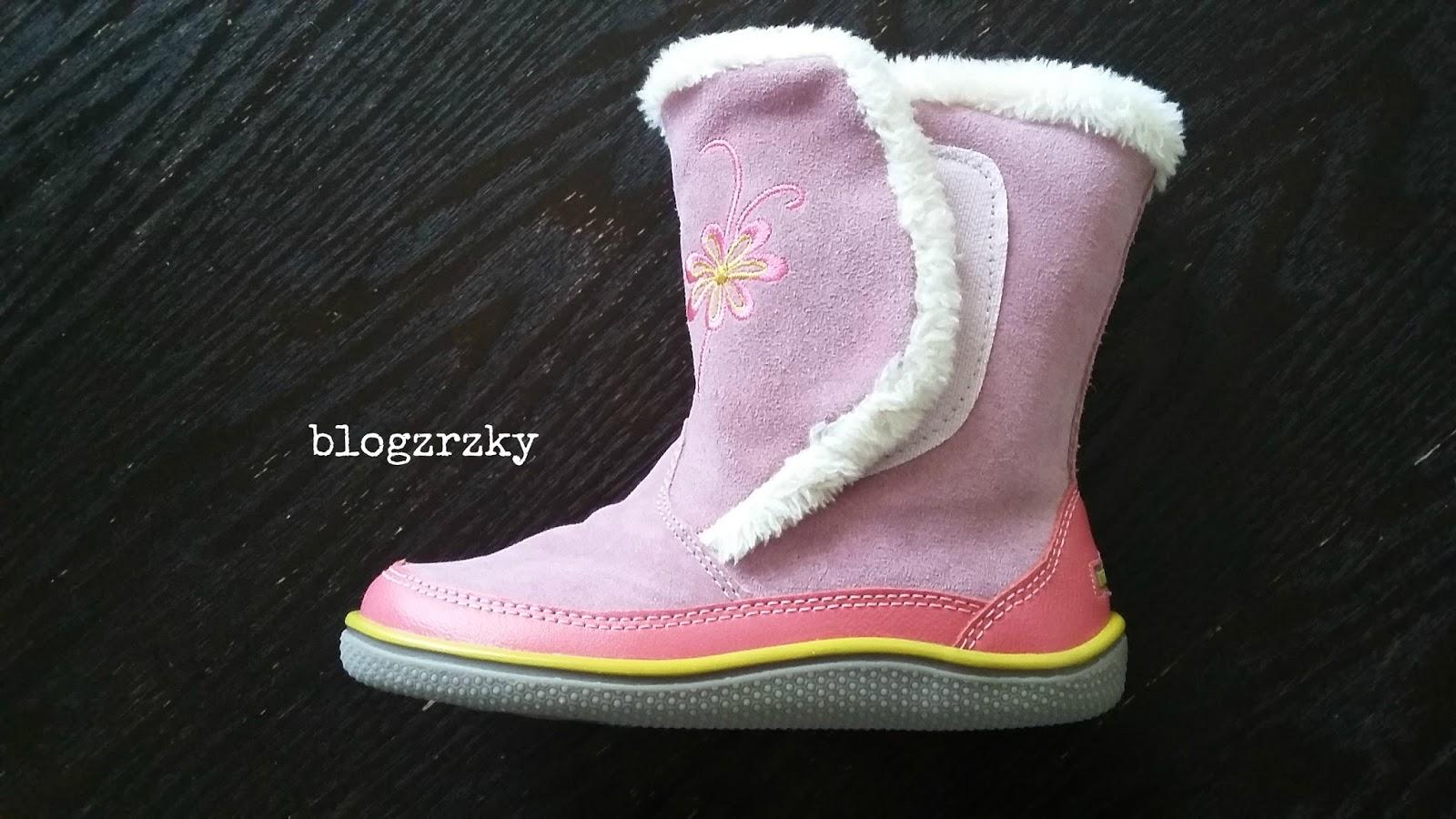 Zimní barefoot boty na širokou nohu KidOFit Viviane Violet - Blogerky.cz ce0a557270