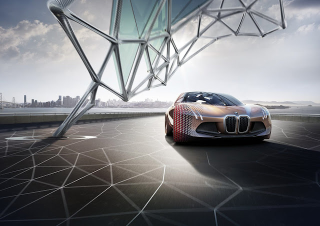 BMW vision next concept revealed at world premiere 2016