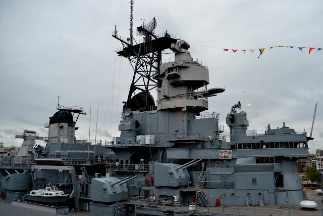 Лінкор Вісконсін, Норфолк, Вірджинія (USS Wisconsin, Norfolk, VA)