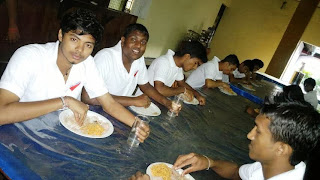University Leadership Training Meals Issue Photo Lanka