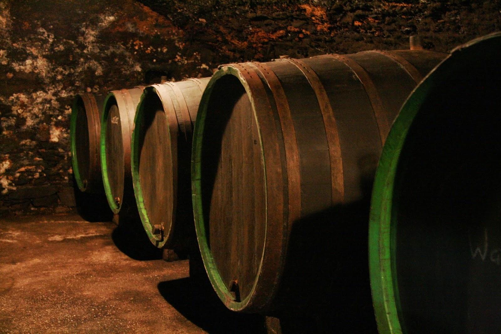 Altes Stadtkanu der Weinlese