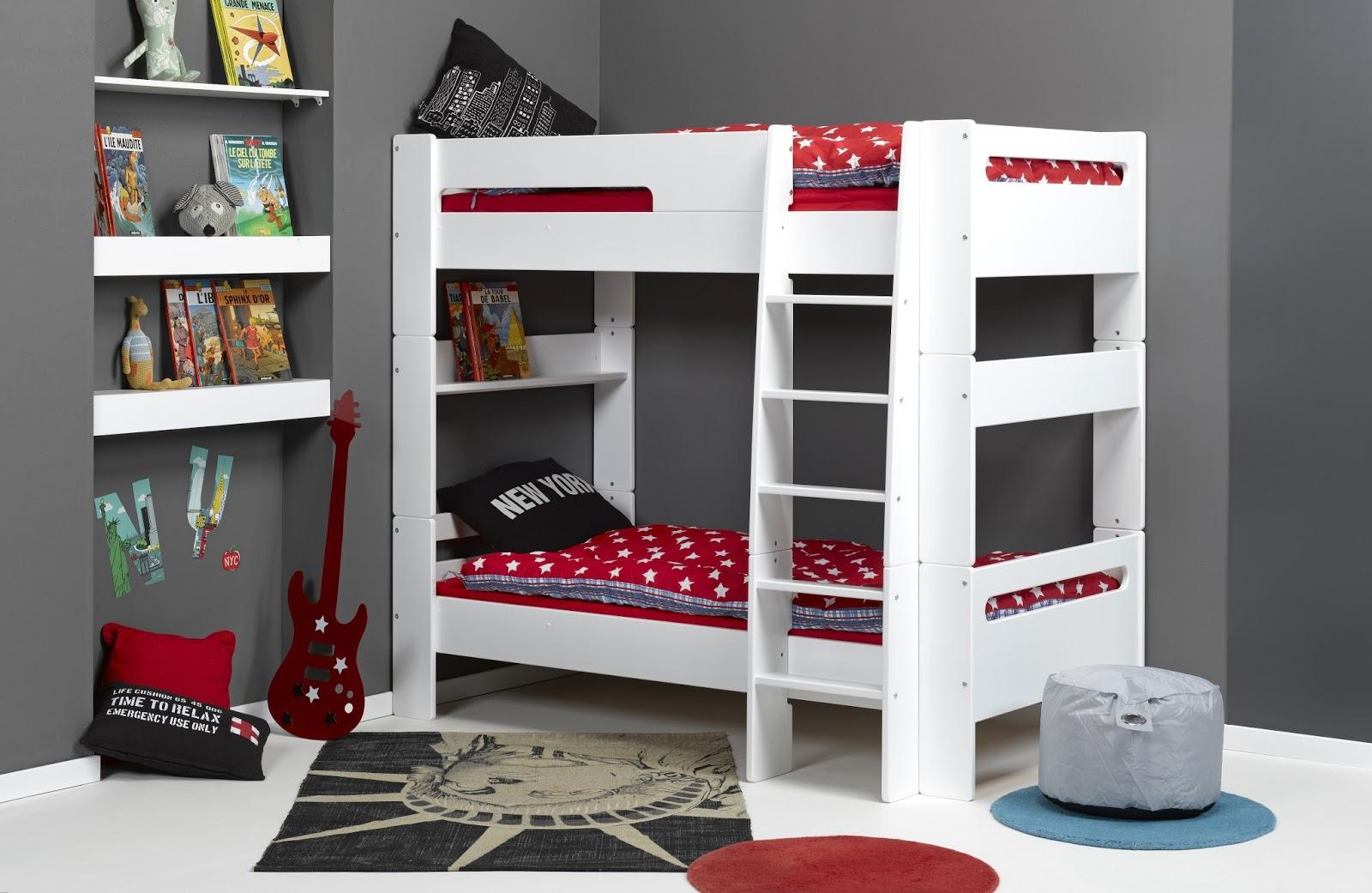 des lits superpos s pour la rentr e. Black Bedroom Furniture Sets. Home Design Ideas