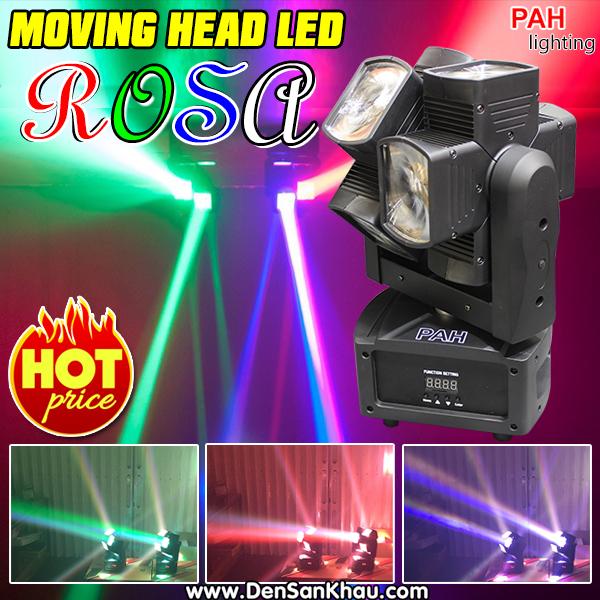 Đèn moving ROSA thiết kế layout ấn tượng - mới lạ.