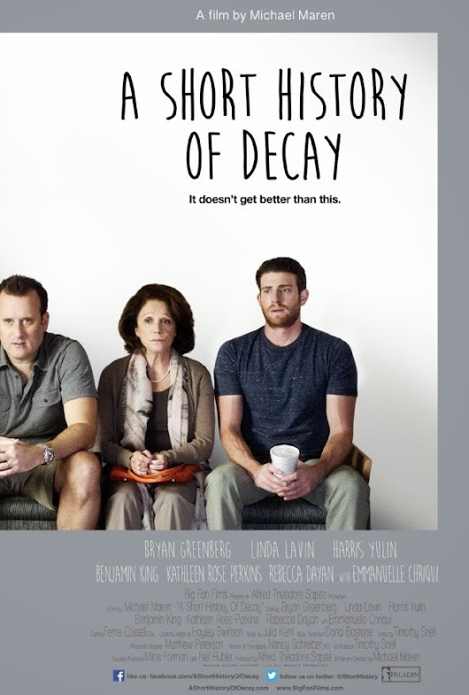 Michael Maren's A SHORT HISTORY OF DECAY: an American indie film that spins cliché into gold