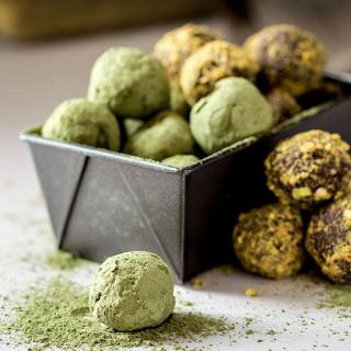 Các công thức làm nama chocolate trà xanh gây nghiện 7