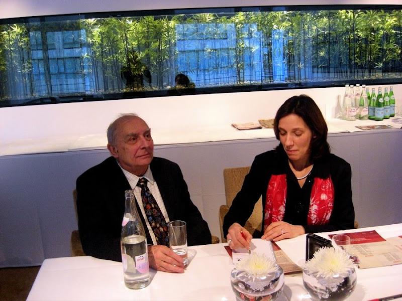 Claude Chabrol, Caroline Elias, Berlinale 2009