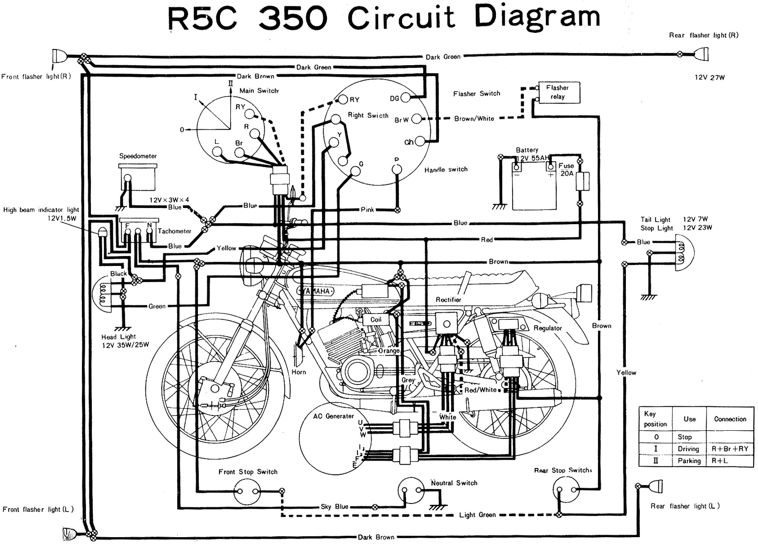 electronic flasher relay circuit diagram