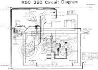 YAMAHA R5C 350 ELECTRONIC DIAGRAM | wiring and diagram