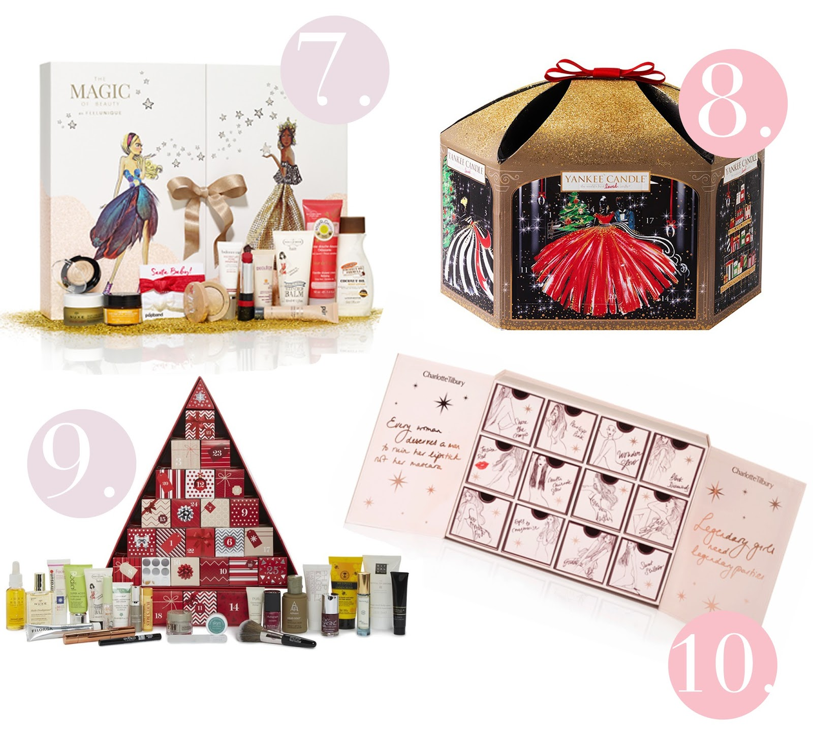 2016 Christmas Beauty Advent Calendars