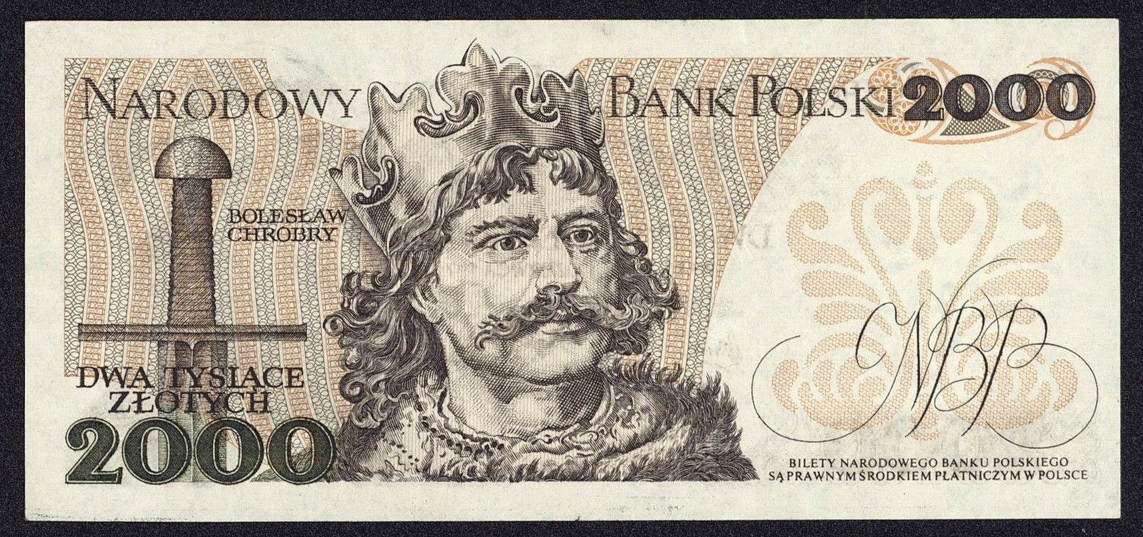 Poland Banknotes 2000 Zloty banknote 1979 Boleslaw the Brave, Duke and then first King of Poland