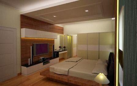 Desain Interior Kamar Tidur Utama Desain kamar mewah