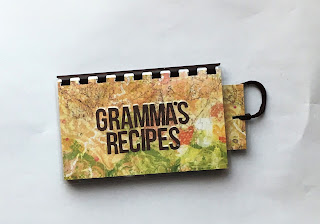 blank recipe book for all personal recipes