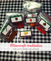 Minecraft-traktaties - gratis download labels