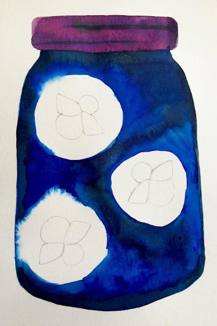 Kathy S Art Project Ideas Glow In The Dark Firefly Art Lesson