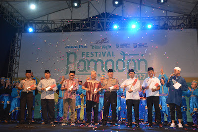 Bupati Trenggalek Buka Festival Ramadhan