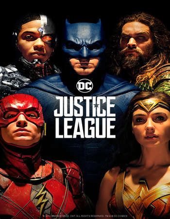 Justice League 2017 English 700MB HDCAM x264