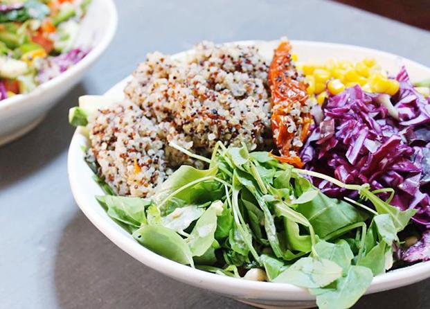 Ensalada con quinoa