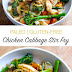 Quick & Easy Chicken Cabbage Stir Fry