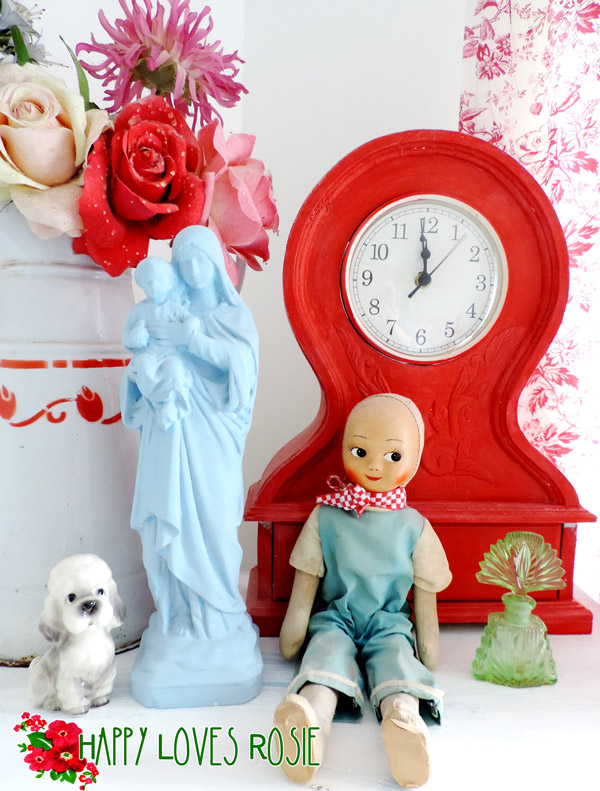 whimsy bedroom collectibles with happy loves rosie