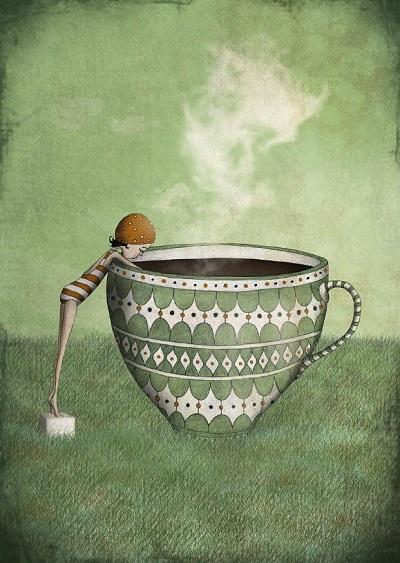 por Maja Lindberg | ilustraciones imaginativas, infantiles, sentimientos y emociones, imagenes bonitas, illustration art, cool stuff