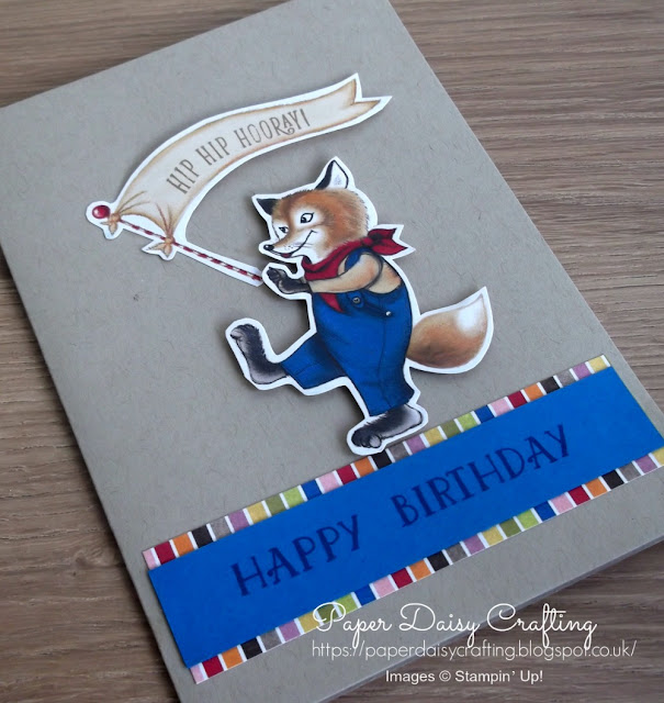 Birthday Memories from Stampin' Up!